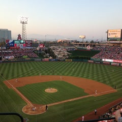 Photo taken at Angel Stadium of Anaheim by Timothy W. on 7/20/2013