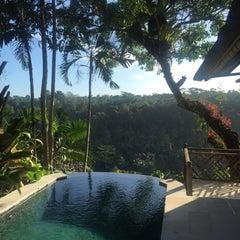 Photo taken at Kupu Kupu Barong Resort And Tree Spa by Alizé ✨ on 6/23/2015