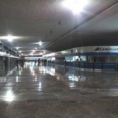 Photo taken at Terminal Central de Autobuses del Poniente by Heriberto C. on 2/24/2013