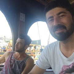 Photo taken at Pirates of Alanya by Cemil B. on 8/16/2015