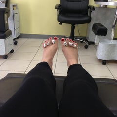 Photo taken at Wendy Nails by Phatnaree L. on 1/17/2013
