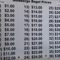 Photo taken at Goldberg's Bagels & Deli by Vish S. on 7/25/2014