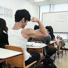 Photo taken at 프린스턴리뷰 어학원 (The Princeton Review) by Josh R. on 7/26/2013