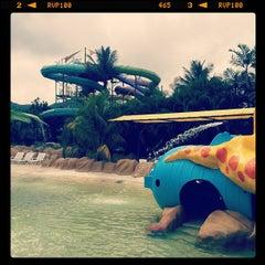 Photo taken at Parque Dunas by Felicidad M. on 7/26/2013