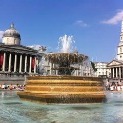 Photo taken at Trafalgar Square by Jan H. on 7/8/2013