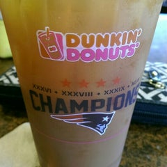 Photo taken at Dunkin Donuts by Emily D. on 10/3/2015