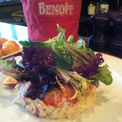 Photo taken at Benoit Bistro by Martin H. on 2/3/2013