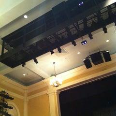 Photo taken at Katharine Hepburn Cultural Arts Center by Zeb H. on 1/20/2013