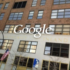 Photo taken at Google New York by Yasemin Y. on 4/11/2013