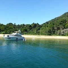 Photo taken at Ilha Grande by Sandra F. on 7/18/2013