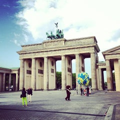 Photo taken at Pariser Platz by Matthias U. on 5/6/2013