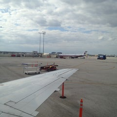 Photo taken at Gate D60 by Jermaine W. on 11/10/2012