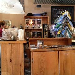 Photo taken at Hacienda San Pedro Coffee Shop by Ricardo M. on 2/16/2013