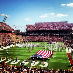 Photo taken at Williams-Brice Stadium by Monty T. on 9/22/2012