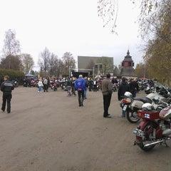 Photo taken at Liedon kirkko by Mika R. on 5/10/2014