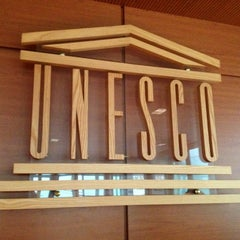 Photo taken at UNESCO by Romain L. on 11/30/2012