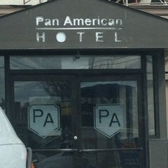 Photo taken at Pan American Hotel by Jessica B. on 3/28/2013