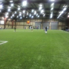 Photo taken at Indoor Sports Arena by Katie A. on 11/14/2012