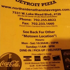 Photo taken at Northside Nathan's Pizza by Jimmie W. on 7/26/2014