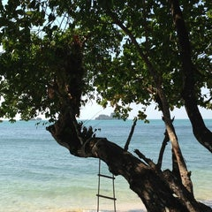 Photo taken at Gajapuri Resort and Spa Koh Chang by Kirill I. on 1/18/2013