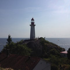 Photo taken at Point Atkinson Lighthouse by Sergio C. on 5/17/2015