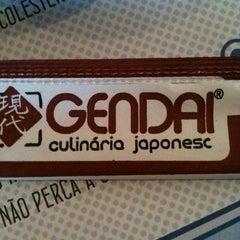 Photo taken at Gendai by Fernando D. on 2/14/2013
