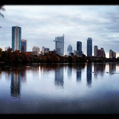 Photo taken at Zilker Park by Phil C. on 11/30/2012