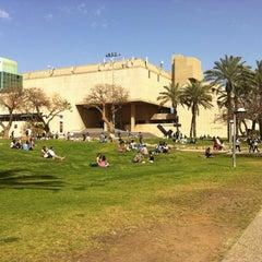 Photo taken at Tel Aviv University   אוניברסיטת תל-אביב by Anna K. on 3/11/2013