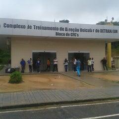 Photo taken at Complexo de Treinamento de Direção Veicular  - DETRAN/AM by Roberto S. on 3/7/2013