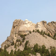 Photo taken at Mount Rushmore National Memorial by Naohiro I. on 8/12/2013