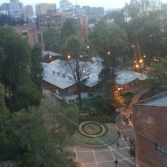 Photo taken at Pontificia Universidad Javeriana by Fernanda T. on 3/12/2013
