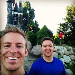 Photo taken at Mulligans Golf & Games by Jesse H. on 7/31/2014