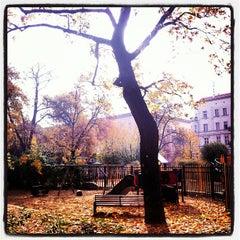 Photo taken at Helmholtzplatz by Dominik H. on 10/24/2012
