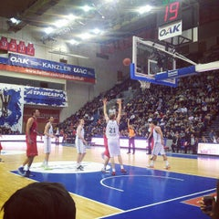 Photo taken at ПБК ЦСКА / PBC CSKA by Evgeniya D. on 1/25/2013