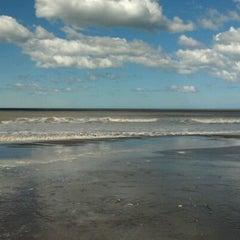 Photo taken at Playa de San Clemente del Tuyú by Lucas A. on 9/21/2012
