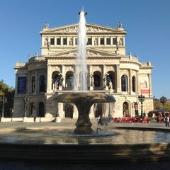 Photo taken at Alte Oper by Albert WK S. on 10/21/2012