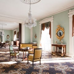 Photo taken at Bartow-Pell Mansion Museum by Ellen B. on 3/4/2014