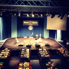 Photo taken at Blue Note Milano by Giacomo C. on 11/19/2012