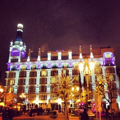 Photo taken at Plaza de Santa Ana by Adrian T. on 12/31/2012