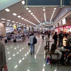 Photo taken at Aeroporto Internacional do Rio de Janeiro / Galeão (GIG) by Bruno L. on 11/8/2013