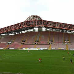 Photo taken at Stadio Nereo Rocco by Ralph R. on 11/11/2012
