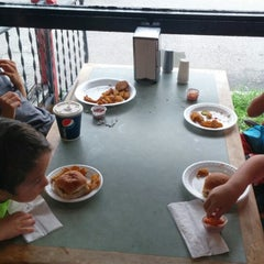 Photo taken at Lil' Ole Caboose by Dominic C. on 8/8/2014