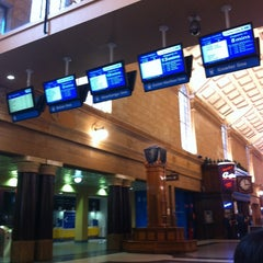 Photo taken at Adelaide Railway Station by Azeaz A. on 10/30/2012