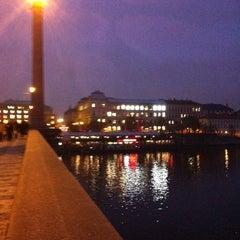 Photo taken at Mánesův most by Mike F. on 11/12/2012