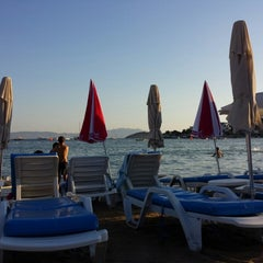 Photo taken at New Season Beach by Fatih Y. on 8/4/2013