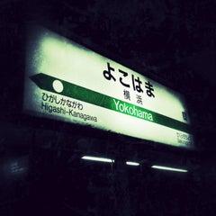 Photo taken at JR 横浜駅 3-4番線ホーム by ken k. on 3/27/2013