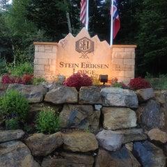 Photo taken at Stein Eriksen Lodge Deer Valley by Sandy G. on 7/14/2013