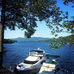 Photo taken at Lake George, NY by Javier E. on 7/17/2015