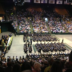 Photo taken at Patriot Center by Christopher M. on 6/2/2013
