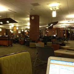 Photo taken at UWM Golda Meir Library by Adrian N. on 2/8/2013
